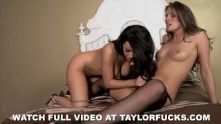 Bedroom Fun With Tori Black Swallow blonde