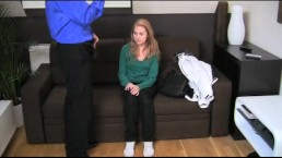 FakeAgent Innocent young girl in casting