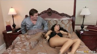 Cheating Asian wife has a wet dream about her big-dick butler Finishhim jerking