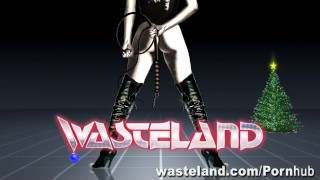 The Consequences Of Elf-Ware: A Wasteland FemDom Christmas!  domination holiday latina puerto rican adult toys sex toy bdsm tied dildo femdom elf