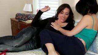 Hardcore Lesbian Strap On Fucking with Sinn Sage