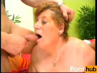 Horny Grandma Looks For Lover - Scene 2