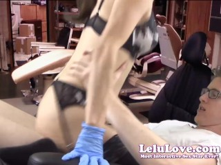 Lelu Love-Female Dentist Seduces Patient