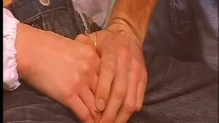 Scene getting physical  doctor blowjob