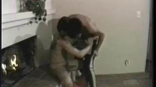 Scene  deep semen ass kissing