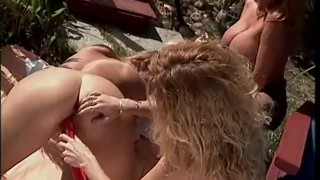 Pussyman's scene butt  tremendous babes play tits