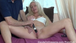 Hot Sexy Swede Made to Orgasm