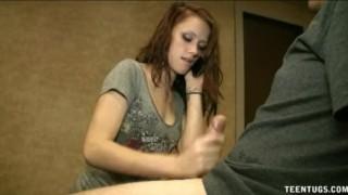 teen tugs revenge handjob