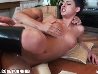 Incredibly HOT Russian punk girl loves rough sex
