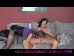 FemaleAgent. Cautious but trusting