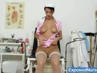 She Doesnt Know She Posted Naked Fucking, Kinky babe nicolettA Emilie big natural tits Brunette Mast