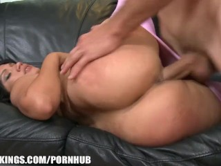 Mom Shows Her Hairy Pussy Slutty Latina with a SEXY fat ass begs for rough - sex