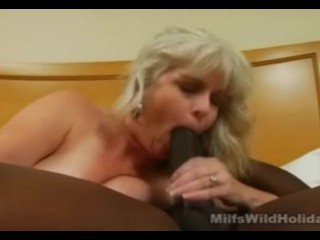 Oral Amber Com Stacey Enjoying That Big Black Wang, Big Dick Interracial Milf
