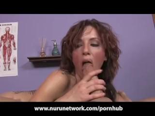 Titty Fuck and Blowjob from Sexy Massage Slut