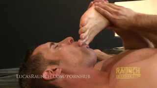 By then hung feet bottom top fucks worshipped gets him hard muscle kissing hung
