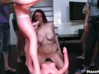 Pledgers Eat Each Others Pussy And Loving It