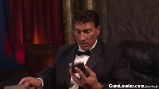 Jynx Maze fucked Anally as a slutty Bond Girl porno