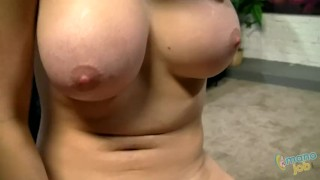 Good jerks linn off kagney real you karter tittyfuck tits