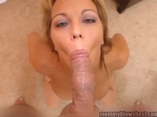 Claudia Downs Anal Horny Busty Mom Blows Young Cock