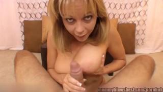 Cock horny blows mom busty young masturbation tits
