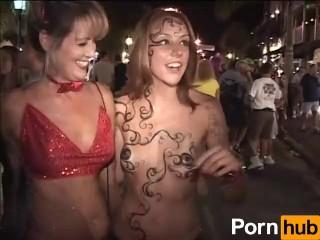 Girls Going Crazy Fantasy Fest - Part 2