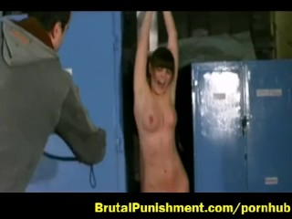 Titty whipping and punishment