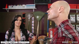 Store bigtit fucks her mandy in haze cashier thick customer her sex tits