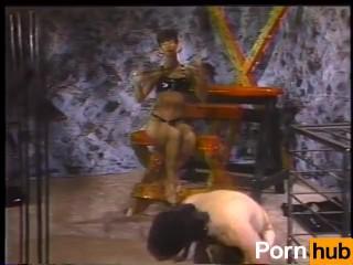 Video 39999303: sharon mitchell, latex mistress dominates, femdom mistress humiliation, foot job feet fetish, vintage foot fetish, mom foot fetish, pornstar foot fetish, tits foot fetish, retro classic vintage, brunette foot fetish, natural tits pornstar foot, dominant mother
