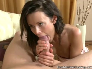 Young girl gets thick cock into her tight pussy