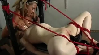 The Domination Of Madison Young - Scene 3  fuck machine big tits high heels face sitting redhead dildo femdom canadian asian skinny busty vibrator stockings pornhub.com pussy licking rope tied up