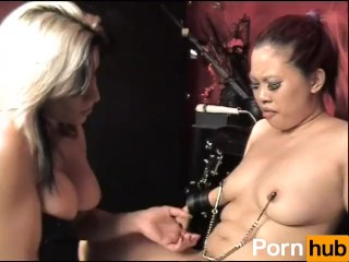 Gagged and juicy - scene 1