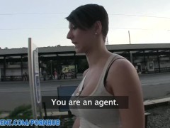 PublicAgent HD Great Tits, Great Ass, Great Fuck outdoors