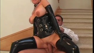 Latex House Wives - Scene 5  big tits ass fucking ass big cock blonde mom blowjob cumshot big dick heels cougar latex shaved mother deepthroat facial pornhub.com ponytail huge tits