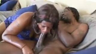 Hot Ebony BBW Babe Sucks And Gets Fucked