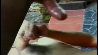 Feast  scene butt brazilian off