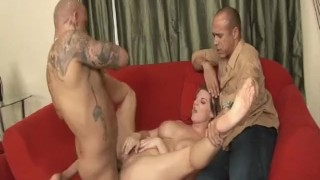 Cuckold MILFs 3 - Scene 4  big ass bbc pussy-eating riding big-tits cuckold wife blowjob huge-cock curvy brunette doggy cougar mother sideways pornhub.com cum shot