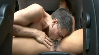 fucks seat scene back blowjob doggy