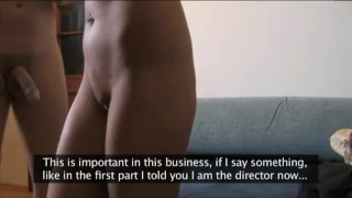 Does casting in interview anal fakeagent mature blonde casting cumshot