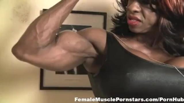 Yvette bova adult Yvette bova flexes and strips