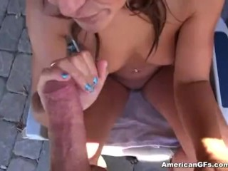 Horny Brunette Teen Has A Knack For Getting Fucked Hard