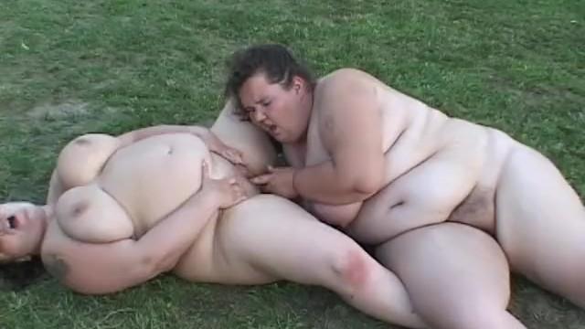 Hairy 1 fat com Lesbian heavy hitters 4 - scene 1
