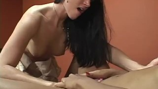 Her First Older Woman - scene 3 pussy eating lesbians pornhub.com heels asian oriental mom cougar shaved mother small tits kissing orgasm small boobs girlongirl skinny butt booty