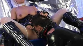 Wet Latex Dreams 11 - scene 4  pussy-eating boots leash gaping femdom nylon blowjob cumshot mask latex shaved deepthroat orgasm pornhub.com