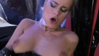 Wet Latex Dreams 11 - scene 4  close up big cock boots leash gaping femdom nylon blowjob cumshot mask latex shaved deepthroat orgasm pornhub.com pussy eating