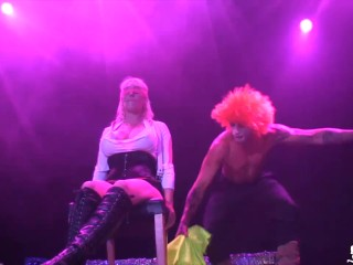 Norwegian Milf Monica on stage at Sexhibition OSLO - Norway -Norsk