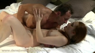 DaneJones HD Horny redhead in very passionate scene Soft young