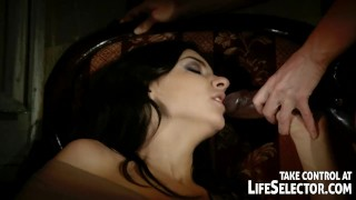 Kinky ghost skinrides girls into domination
