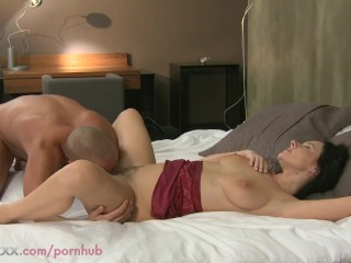Hd Creampie Closeup MOM HD Wife fucks her toyboy