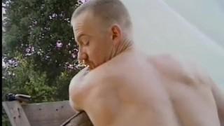THE GAY PATRIOT 6 - Scene 1 Stud blowjob