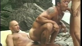 Gay patriot  scene the threesome vintage